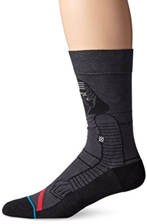 cbd064728f Star Wars Men s Kylo Ren Classic Crew Sock at Amazon Men s Clothing ...