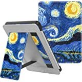 MoKo Case Fits All-New Kindle (10th Generation - 2019 Release Only), Slim PU Leather Stand Smart Cover Shell with Hand Strap, Will Not Fit Kindle Paperwhite 10th Generation 2018 - Starry Night
