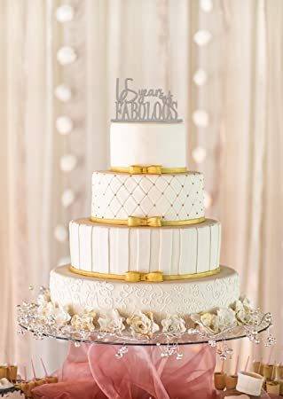 65 Years Of Fabulous Cake Topper And 65th Birthday