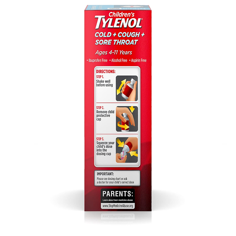 pics Tylenol Childrens Plus Cough Sore Throat