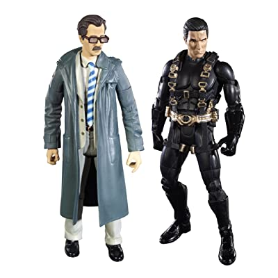 Batman Legacy Batman Begins Prototype Suit Batman And Lt. Jim Gordon Collector Figure 2-Pack: Toys & Games