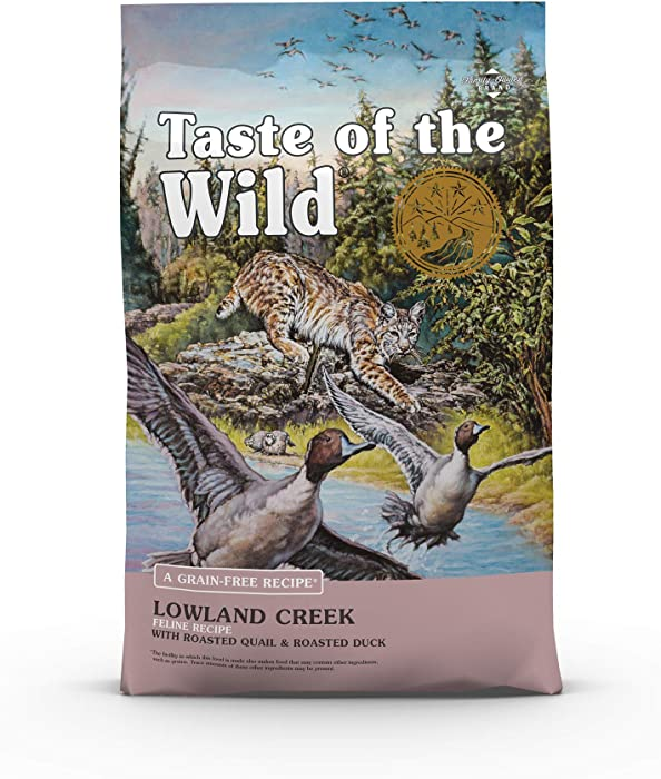 Taste of the Wild Grain Free High Protein Real Meat Recipe Lowland Creek Premium
