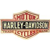 エンボスメタルサイン HARLEY DAVIDSON BAR AND SHIELD 【サインボード】