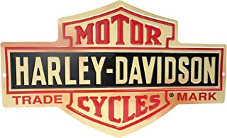 product image for Harley-Davidson Distressed Long Bar & Shield Tin Sign 15.5 x 9.5 Inch 2010131