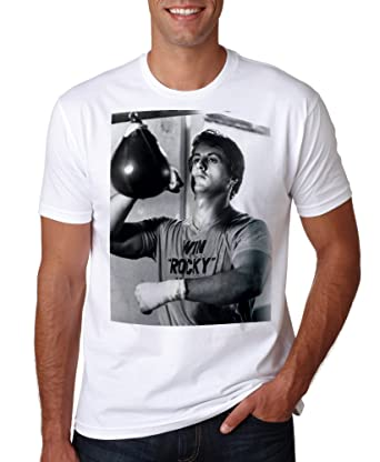 37a73e46 LuckyTshirt Win Rocky T Shirt Balboa Movie S New Men Boxing Asap Fighting  Style MMA Retro 12: Amazon.co.uk: Clothing