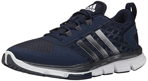 save off 5c0d8 99b99 Adidas Performance Men's Speed Trainer 2 Training Shoe, Collegiate Navy/Carbon  Metallic/Tech