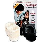 DeliCups Dolce - Cápsula reutilizable para cafeteras Dolce Gusto - Miles de cafés con una sola cápsula
