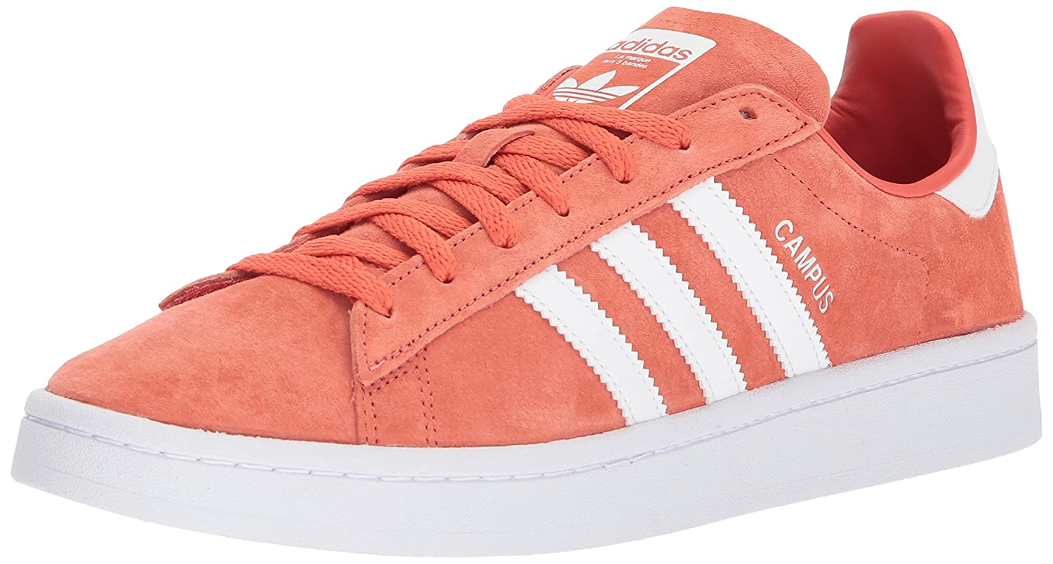 Adidas Originals Men's Campus, Campus, Campus, Trace Scarlet Weiß Weiß, 11 Medium US b0ba47
