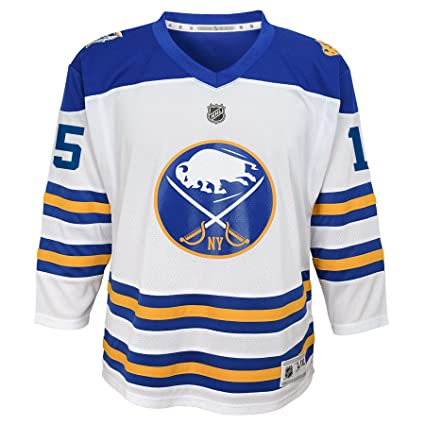 7676bddcb19bea Outerstuff NHL Buffalo Sabres Teen-Boys Winter Classic Jersey,  Small/Medium, Multi