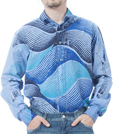 Custo Barcelona - Camisa Casual - para Hombre Azul Azul 48 ...