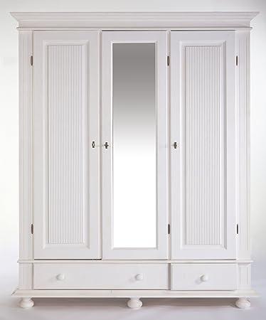 Eckkleiderschrank weiß massiv  Kleiderschrank Weiß | gispatcher.com