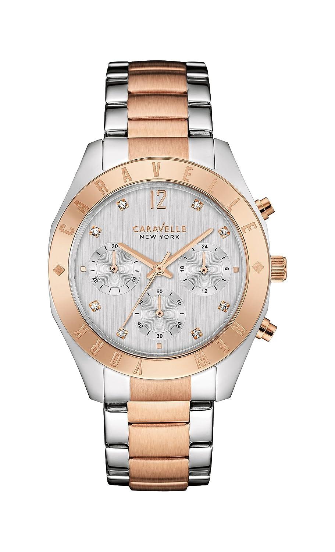 Caravelle New York Women s Quartz Stainless Steel Dress Watch Model 45L156