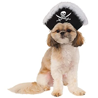 Pet Pirate Hat, Medium/Large: Toys & Games