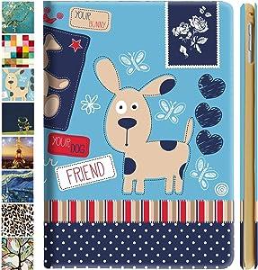 DuraSafe Cases iPad PRO 11 2020 MY232LL/A MXDC2LL/A MXDE2LL/A MXDG2LL/A MY252LL/A MXDD2LL/A MXDF2LL/A MXDH2LL/A MY332LL/A MXEW2LL/A MXEY2LL/A Ultra Slim Cover, Auto Sleep/Wake Function - Puppy Friend