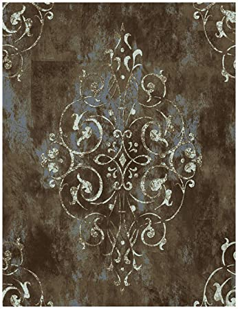 Haokhome 94005 Vintage Damask Peel And Stick Wallpaper 17 7 X 19 7ft Brown White Vinyl Self Adhesive Contact Paper Wall Murals Room Decor Wallpaper Amazon Canada