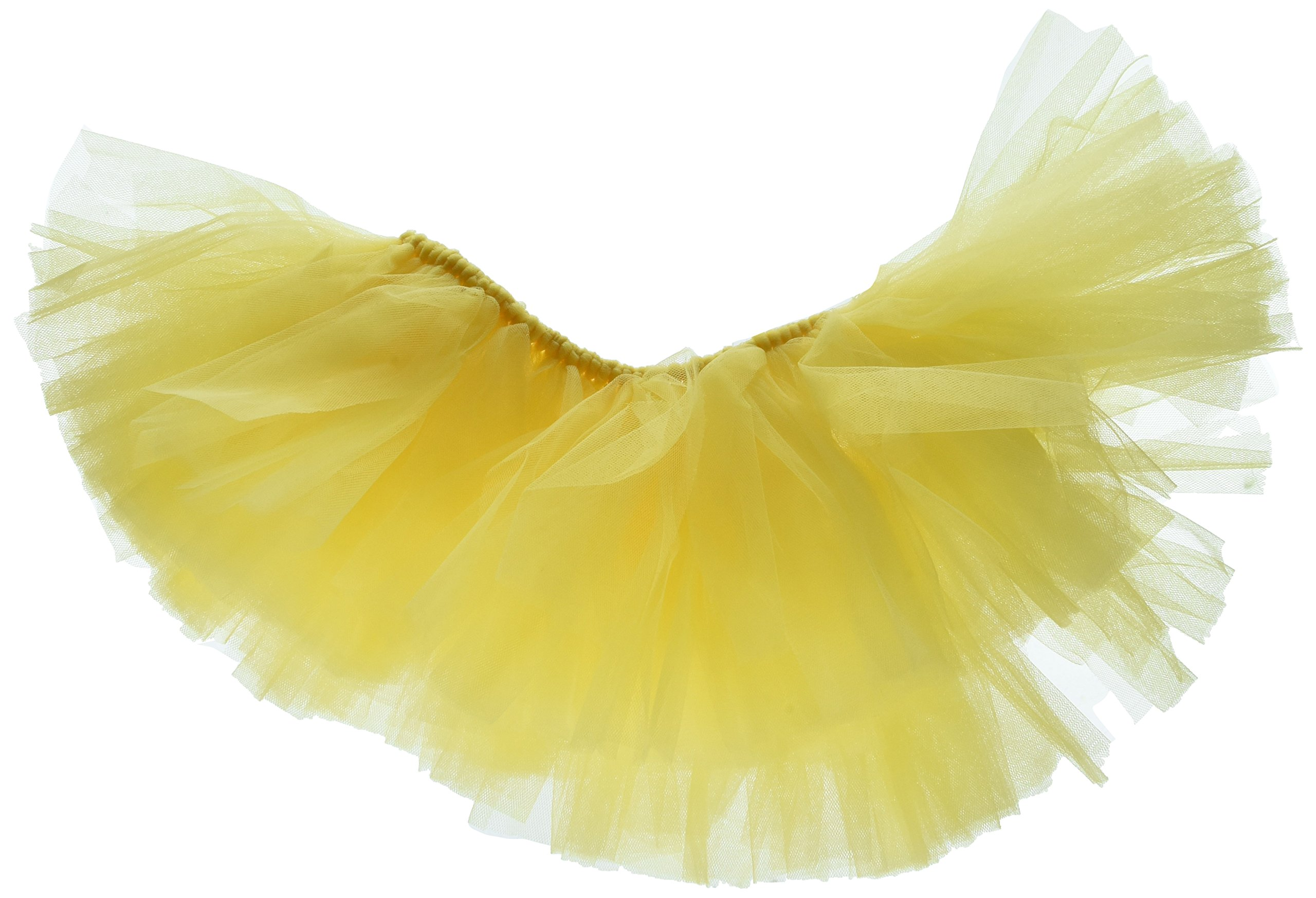 Handcrafted in USA Yellow Tulle Tutu for Extra Large Dogs