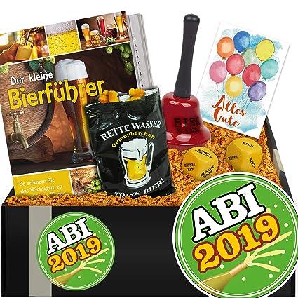 Abitur 2019 Geschenkpaket Biergenuss Abi Box Geschenk