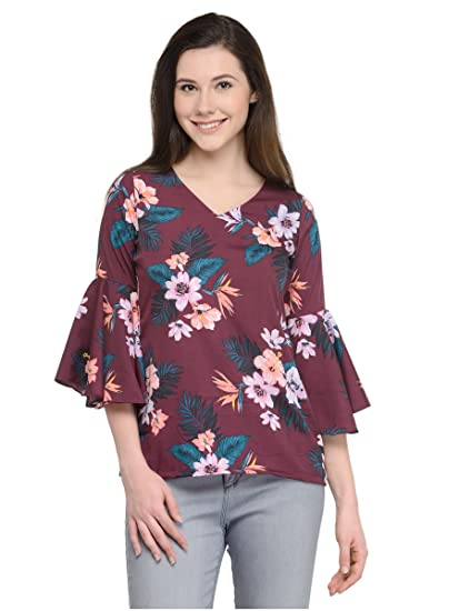 76ec6a9626a689 plusS Ladies Tops  Amazon.in  Clothing   Accessories
