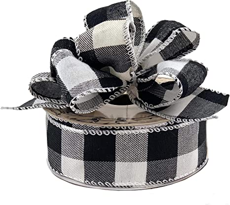 6 x Rolls Natural Colour Wired Finishing Ribbon with Silver Heart Design