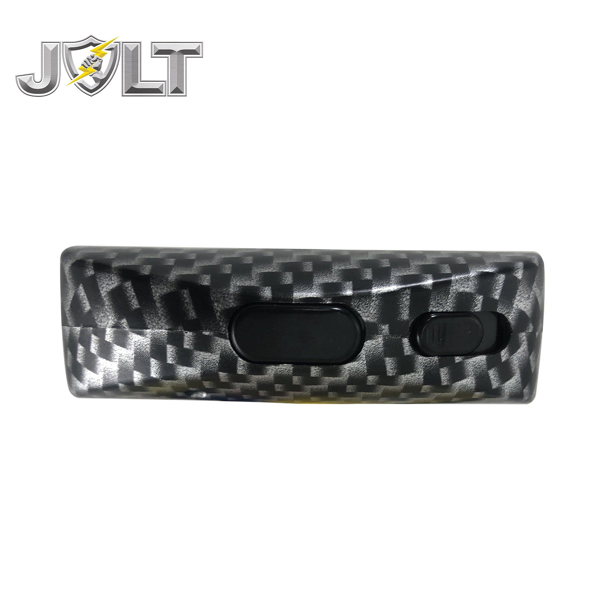 STREET WISE SECURITY PRODUCTS JOLT Protector 60,000,000 Stun Gun HD Carbon Fiber: Black