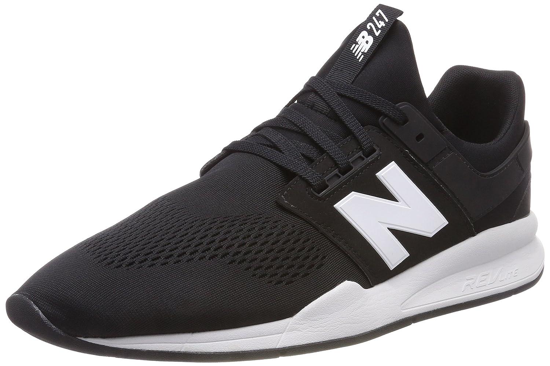 New Balance 247v2, Zapatillas para Hombre 49 EU|Negro (Black/White Munsell Eb)