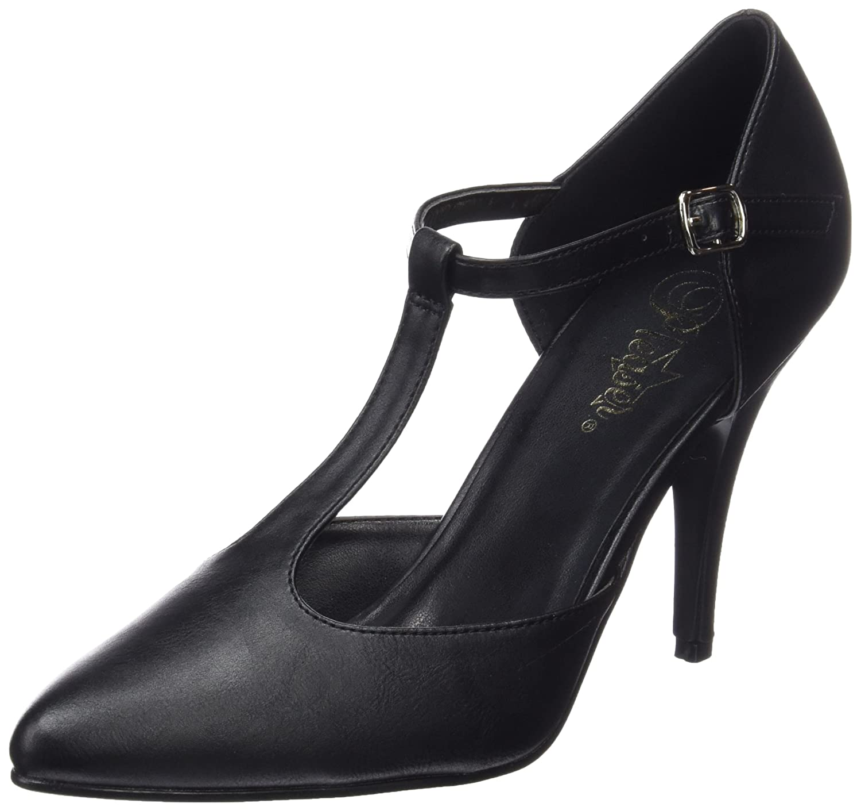 TALLA 40 EU. pleaser Vanity-415, Zapatos de tacón con Punta Cerrada para Mujer