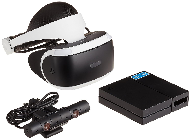 PlayStation VR + Camera + VR Worlds Voucher: PlayStation 4: Amazon ...