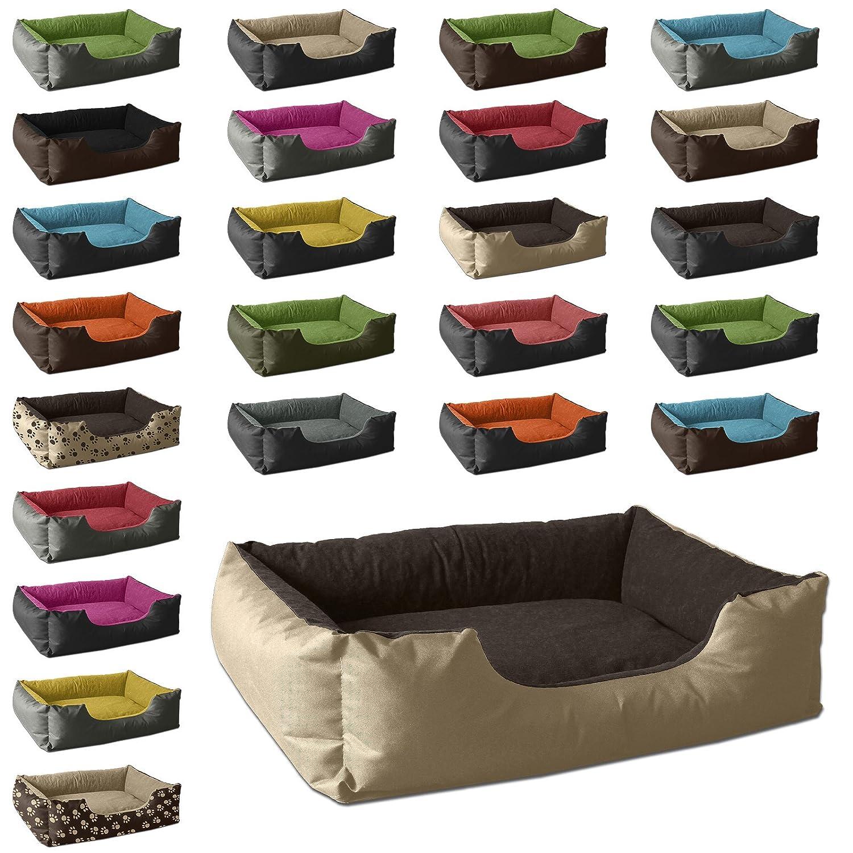 BedDog colch/ón para Perro LUPI S hasta XXXL sof/á para Perro XL Negro//Gris 24 Colores Cama para Perro Cesta para Perro
