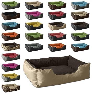 BedDog colchón para Perro LUPI S hasta XXXL, 24 Colores, Cama para Perro, sofá para Perro, Cesta para Perro, L Beige/marrón: Amazon.es: Productos para ...
