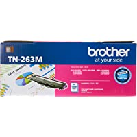 Brother TN-263M ASA Original Toner Cartridge Compatible with DCN/HL/MFC, 1300 Pages, Magenta