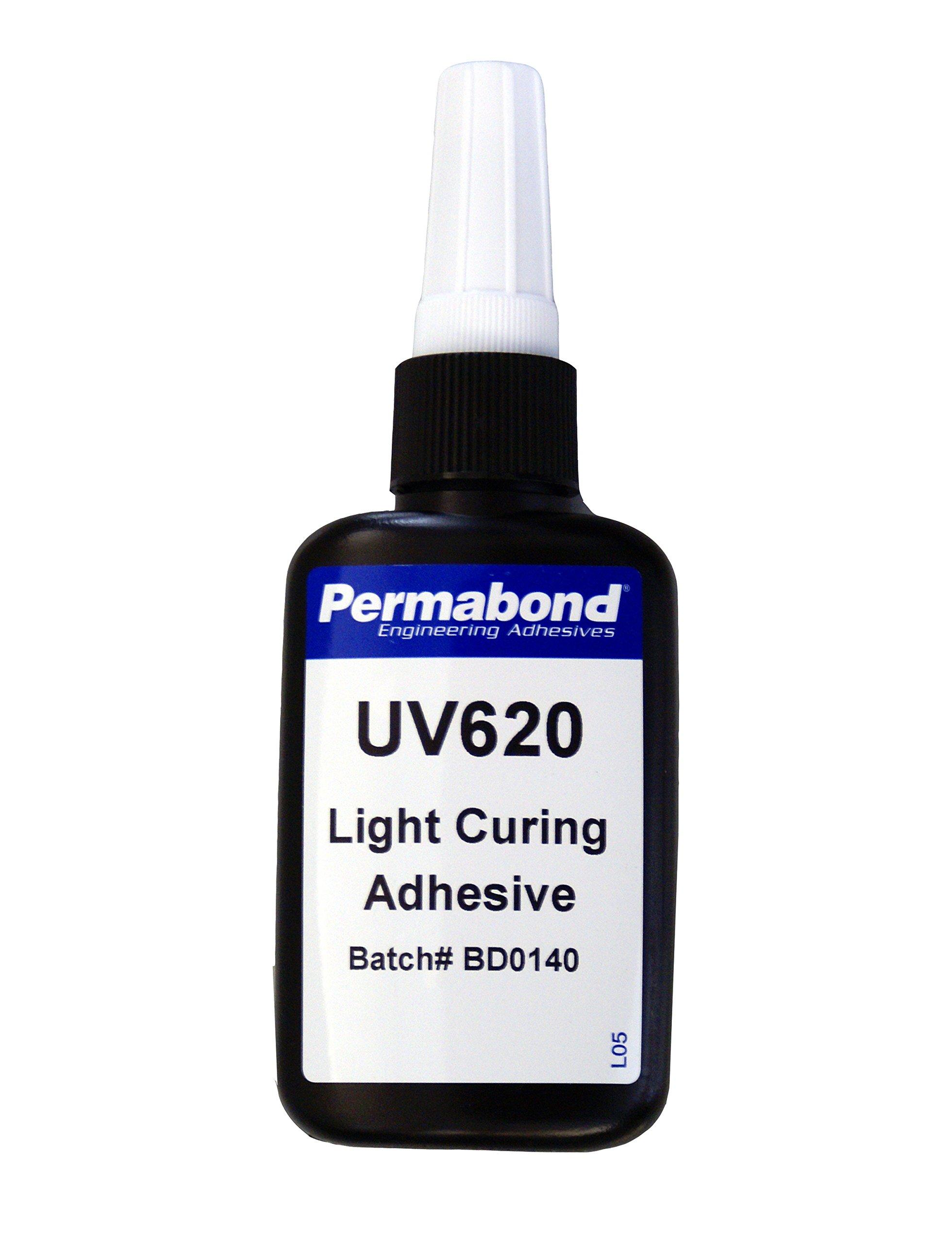 Permabond UV620 UV Cured Adhesive, 50 mL