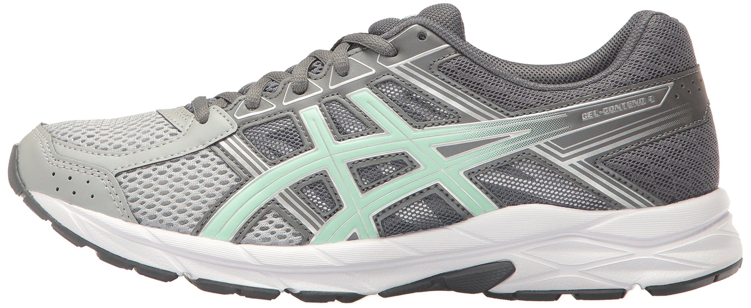 ASICS Womens Gel-Contend 4 Running Shoe, Mid Grey/Glacier Sea/Silver, 5 Medium US by ASICS (Image #5)