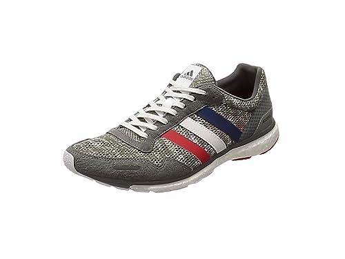 Adidas Adizero Adios 3 Aktiv, Zapatillas de Deporte para Hombre, Gris (Gricua/Ftwbla/Escarl 000), 43 1/3 EU: Amazon.es: Zapatos y complementos