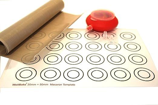 Wellbake Macaron/Profiteroles Kit - 1M Baking Liner Roll (100Cm X