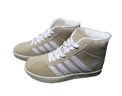 Punta Con Scarpe Sneaker City Tonda Donna Modello E Suola 2WDH9EI