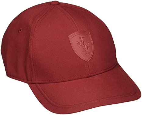 Amazon.com   PUMA Ferrari LS Shield Maroon Hat   Sports   Outdoors 1e3c799b87f
