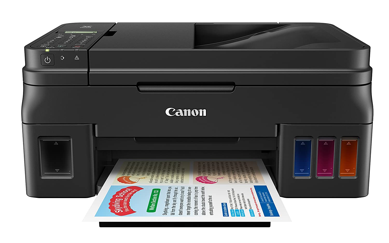 Amazon.com: Canon PIXMA G4200 Wireless Mega Tank All-In-One Printer, Black,  8.5 x 11 inch: Electronics