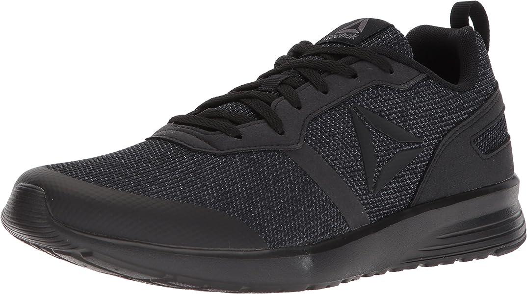 Men s Foster Flyer Running Shoe. Reebok Men s Foster Flyer Sneaker Black ash  Grey 8 ... 68a395a38