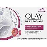 Olay 4-In-1 Daily Facial Cloths, Normal Skin 33 Count, Packaging May Vary Packaging may Vary