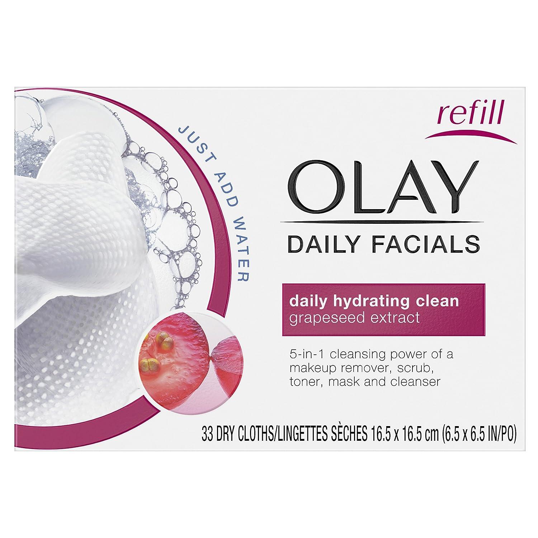 Olay 4-IN-1の毎日の洗顔クロス、ノーマルスキン33カウント、梱包異なる場合があり包装は変更される場合があります B00BNBMVM0