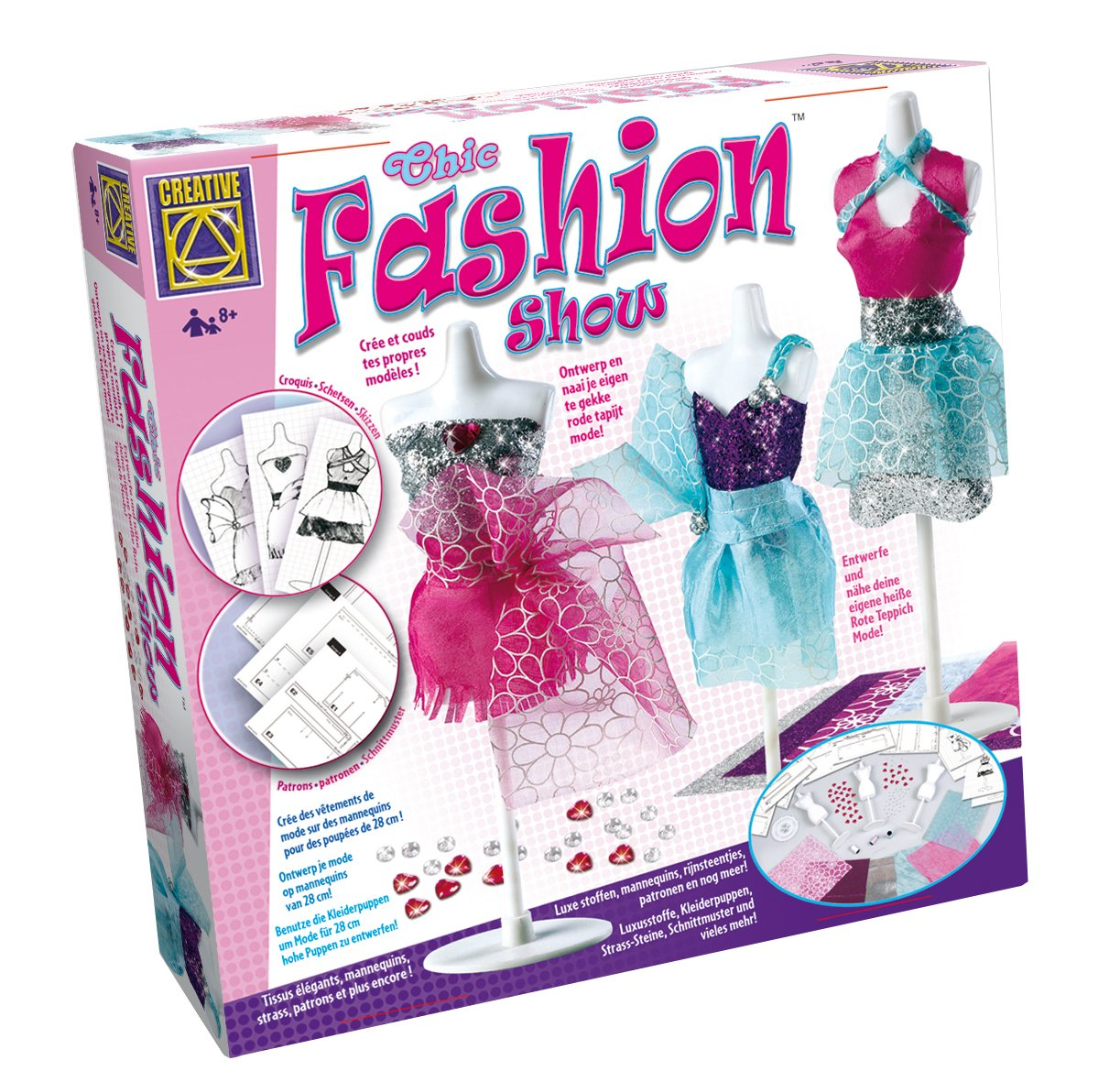 Creative Toys Elegant Catwalk Creations Fashions: Amazon.co.uk: Toys ...