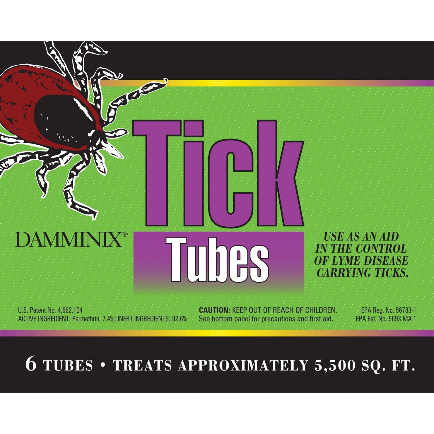 Eco Health Damminix 27213 Tick Tube, 6-Pack