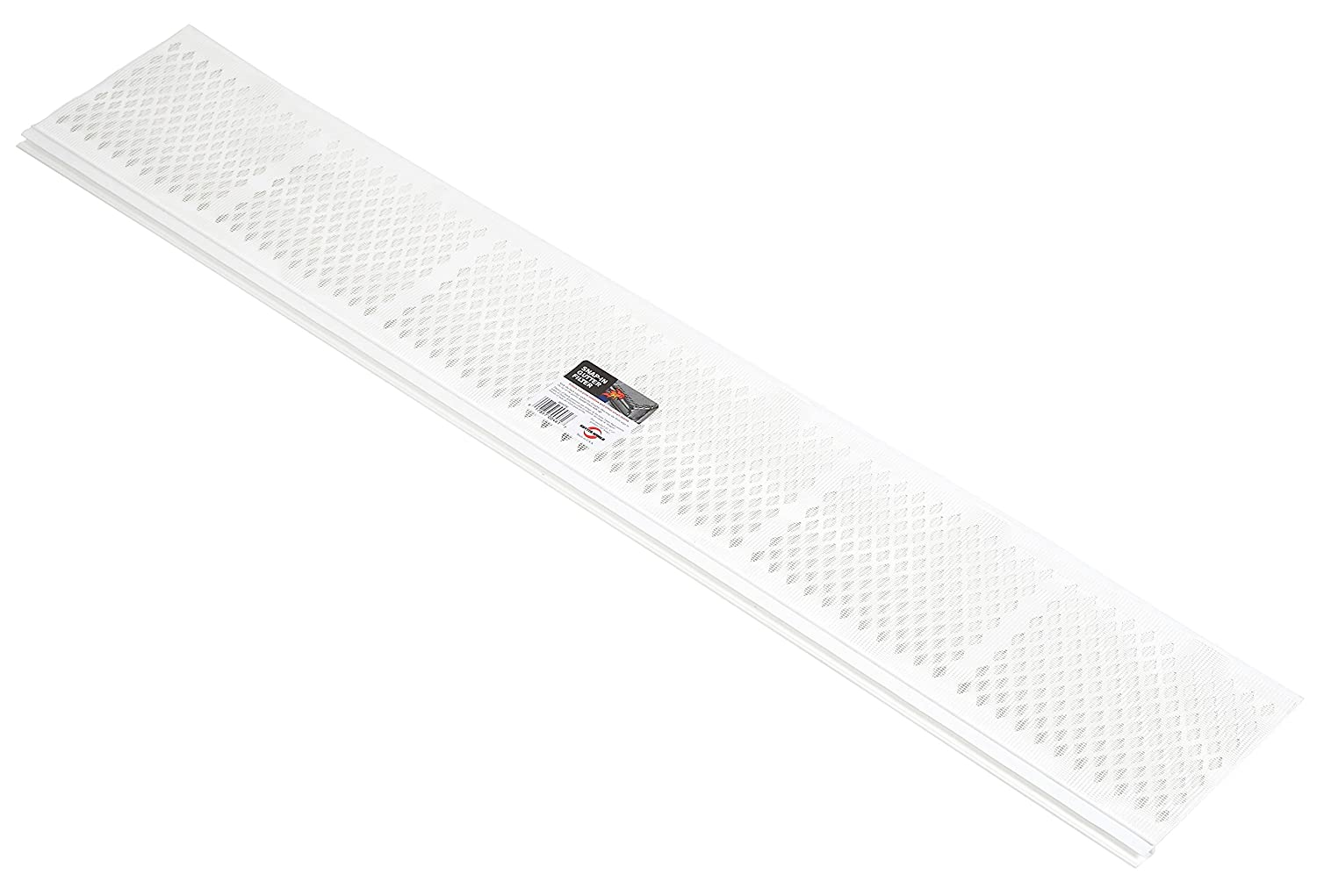 Amerimax Home Products 86670 Snap-in Filter Gutter Guard, 3', White