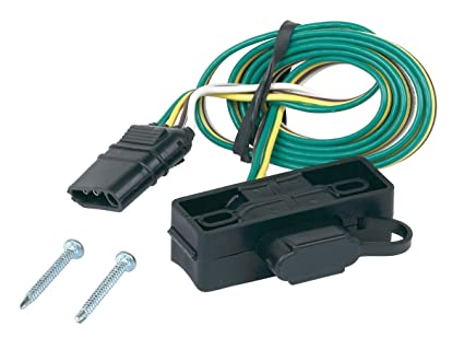 Amazon.com: Hopkins 48595 4 Wire Flat Mounting cket: Automotive on 4 flat wiring harness, 4 flat trailer plug, 4 wire trailer diagram, 4 flat trailer cover, 4 wire harness diagram, 4 flat trailer connector diagram, 4 flat trailer wire, tail light converter diagram, trailer light diagram, peterbilt suspension diagram,