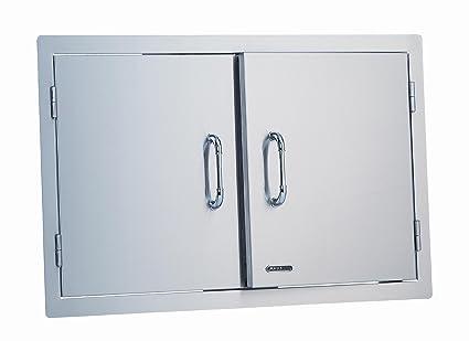 Amazon.com : Bull Outdoor Products 33568 Stainless Steel Double Door ...
