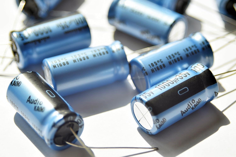 25V 470uf 4 pcs Nichicon KA Capacitors