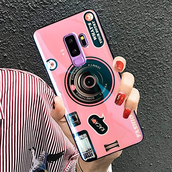 separation shoes 65239 f6de2 for Samsung Note 9 Note8 Case Vintage 3D Pop Stand Holder Cover for Galaxy  S9 S8 Plus S7 Edge Retro Camera Pattern Soft TPU Capa (A1, for Samsung ...