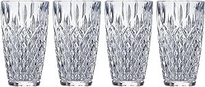 Mikasa Harding Highball Glass, 11.7-Ounce, Set of 4