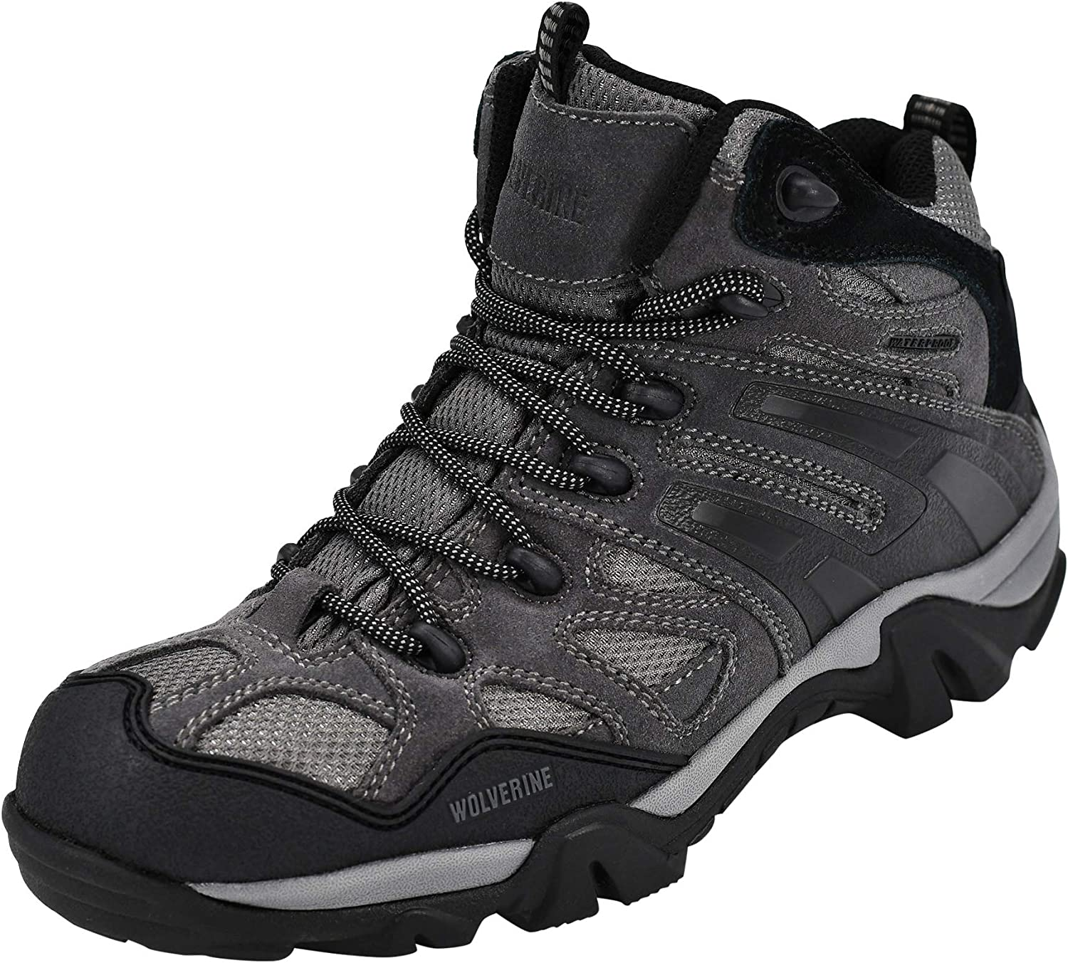 Wolverine Men s W05745 Wilderness Gunmetal-M