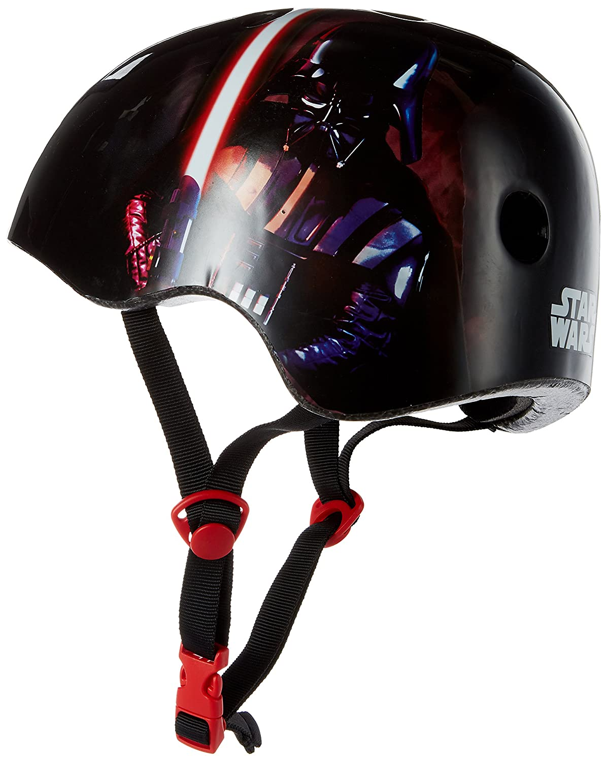 Bell 7071185 Star Wars 2D Darth Vader Youth Multisport Helmet, Black